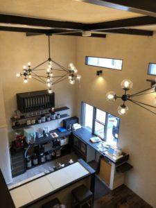 岸和田市のカフェにて内装リフォーム工事を承りました!